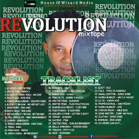 [Mixtape] DJ HIDEE REVOLUTION MIXTAPE