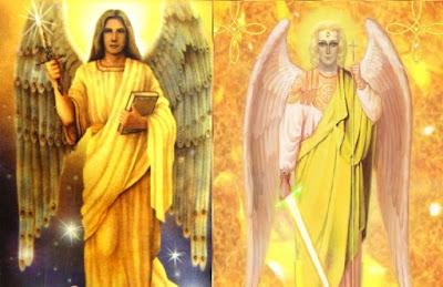 arcangel jofiel y el rayo dorado