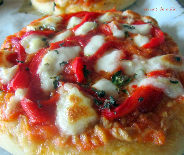 "Pizza de atún  y pimiento  ""Reto Bake The World"""