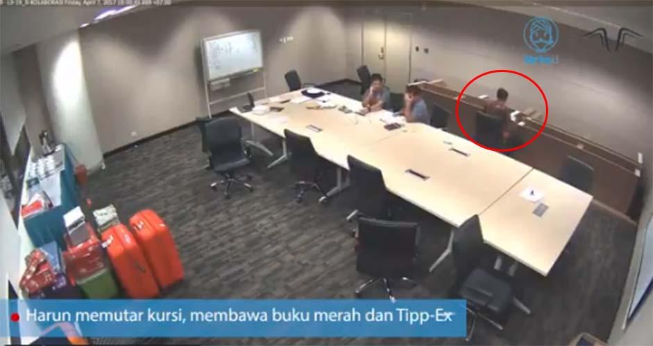 CCTV buku merah