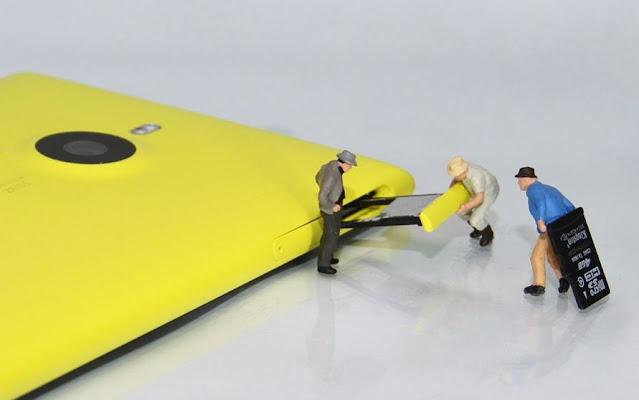 2. Kebutuhan Kapasitas MicroSD