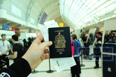 contoh dokumen passport luar negeri