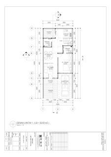 denah lantai 1 gambar desain 2d rumah 2 lantai ukuran 6x14 (3)