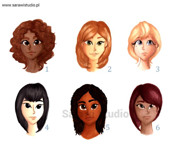 twarze, portrety, postacie, karnacja, sóra, jak narysować twarz, jakie kolory dobrać do skóry, promarkery, tutorial, jak pokolorować skórę, rysunek,  promarker letraset, tutorial