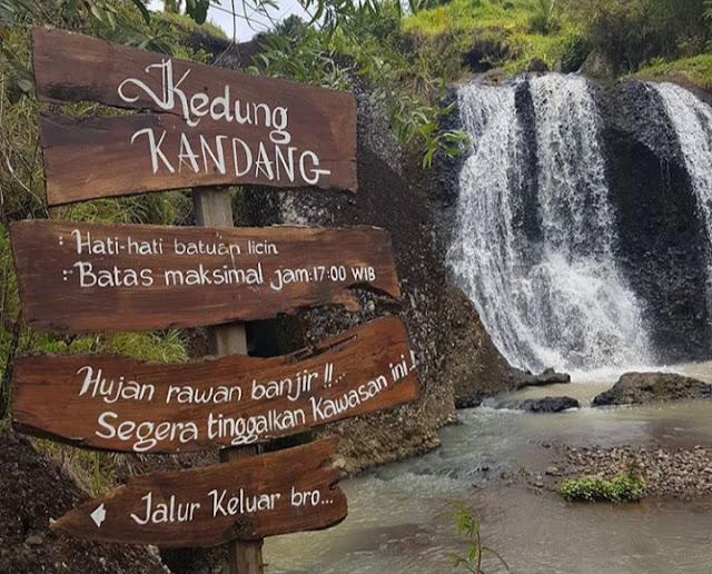 Destinasi Asri Air Terjun KEDUNG KANDANG GunungKidul Yogyakarta