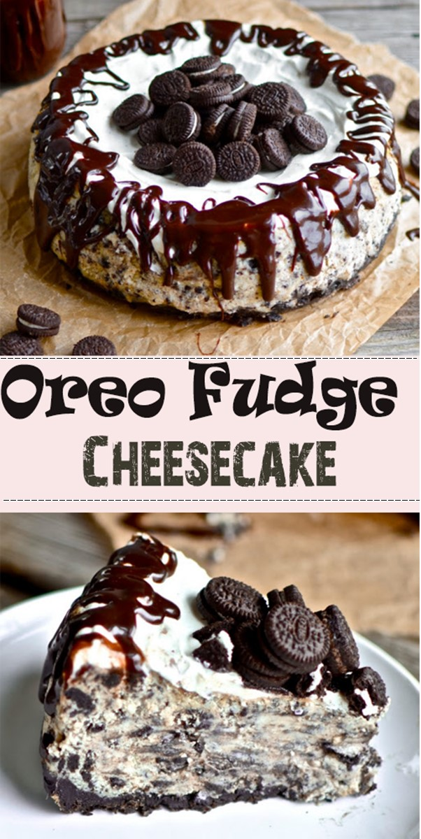 Oreo Fudge Cheesecake