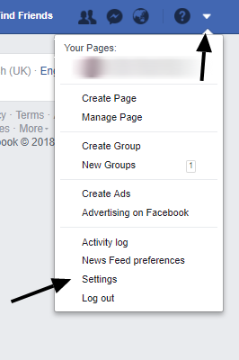 just one step to delete your facebook account