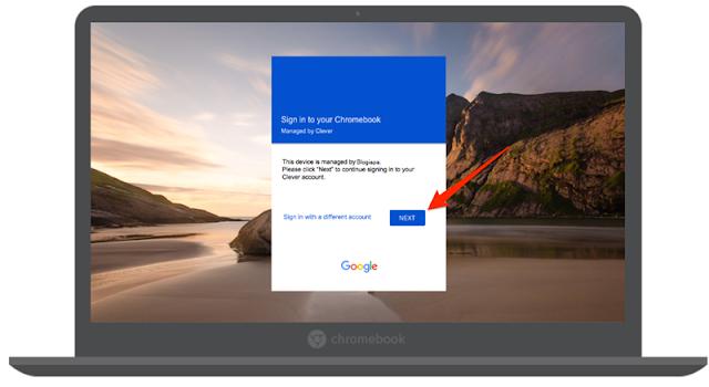 login to chromebook using google acount