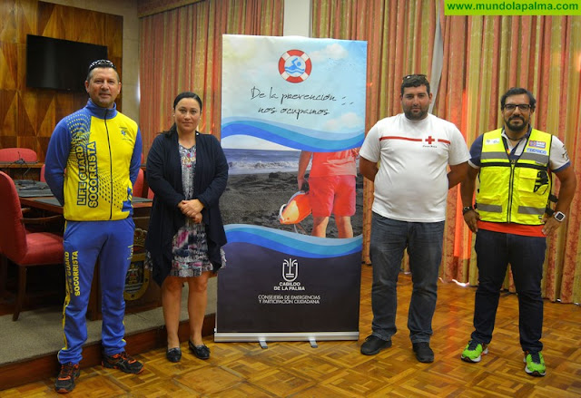 El Cabildo insta a los ayuntamientos a preservar la seguridad en las playas de la isla