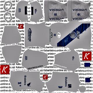 Club Puebla 2020/21 Home Kits Dream League Soccer 2021