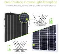 Günstige Solar Insel-Lösung mit EFTE Solarpanels