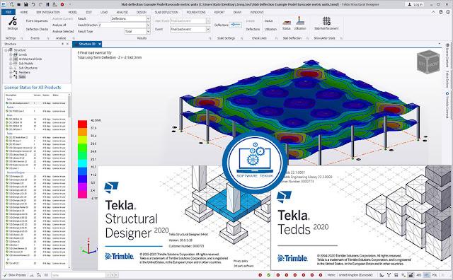 Trimble Tekla Structural Design Suite 2020 TSD v22.0 Tedds.v22.1