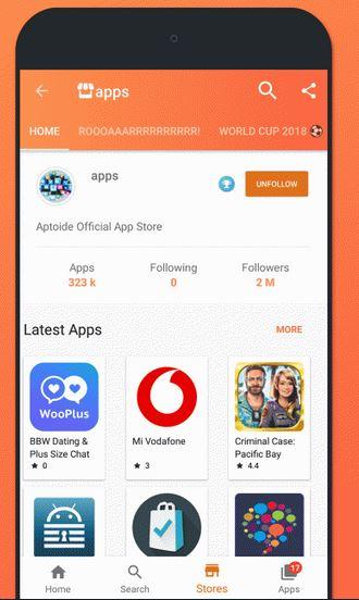 Download Aplikasi Aptoide 9.2.0.1 Terbaru Gratis Untuk Android