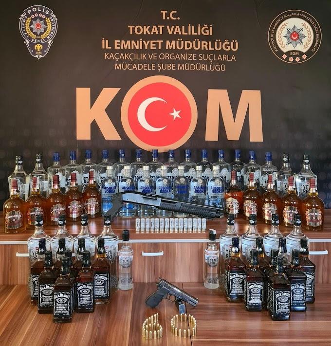 Tokat Emniyet Müdürlüğü Kaçakçılık ve Organize Suçlarla Mücadele