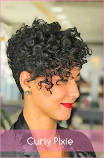 Curly Pixie 2020 For women