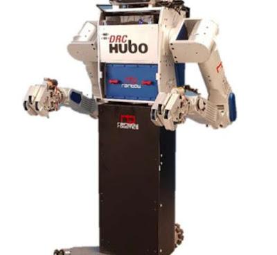 M-Hubo: İnsanlara basit günlük görevlerde yardımcı olan tekerlekli insansı robot