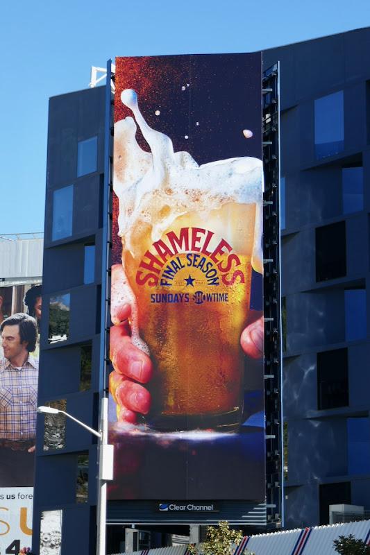 Shameless final season billboard