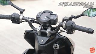 Suzuki Nex II Modifikasi Stang Telanjang