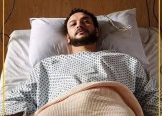 بعد اعلان خطوبتة الفنان أحمد خالد صالح يدخل المستشفى