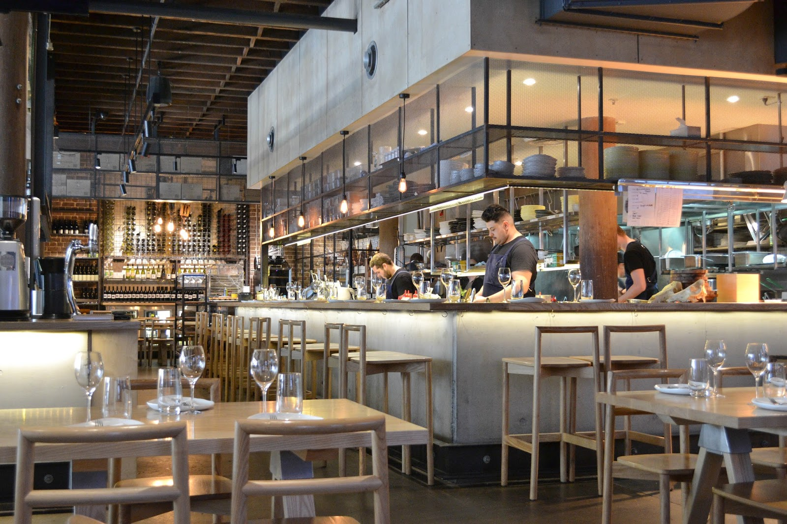 commercial kitchen design sydney nomad surry chew your chow 291