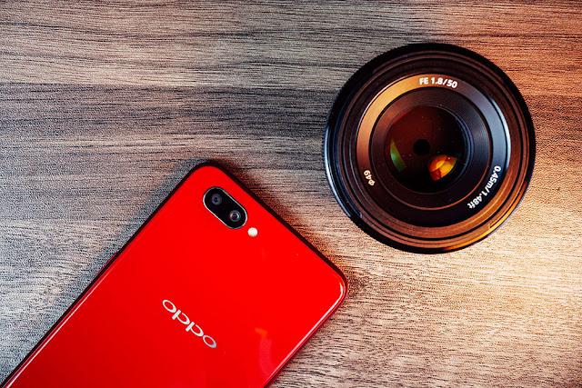 Kamera Oppo A5S