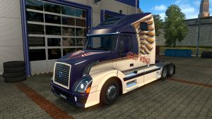 Gold Wings Skin for Volvo VNL 670