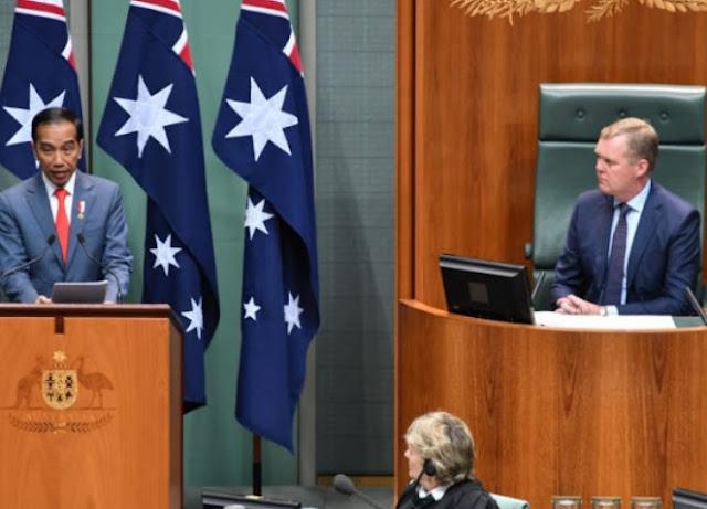 66% Orang Australia Tak Percaya Kemampuan Jokowi Tangani Isu Global