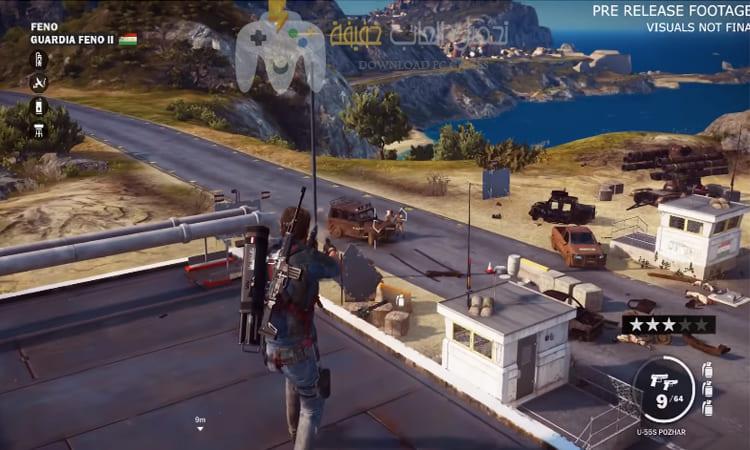 تحميل لعبة Just Cause 3 للكمبيوتربرابط واحد