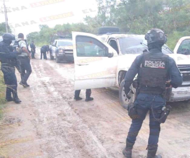 En Reynosa cámaras del C4 capta a Sicarios, Policías van por ellos y huyen, abandonaron una camioneta blindada