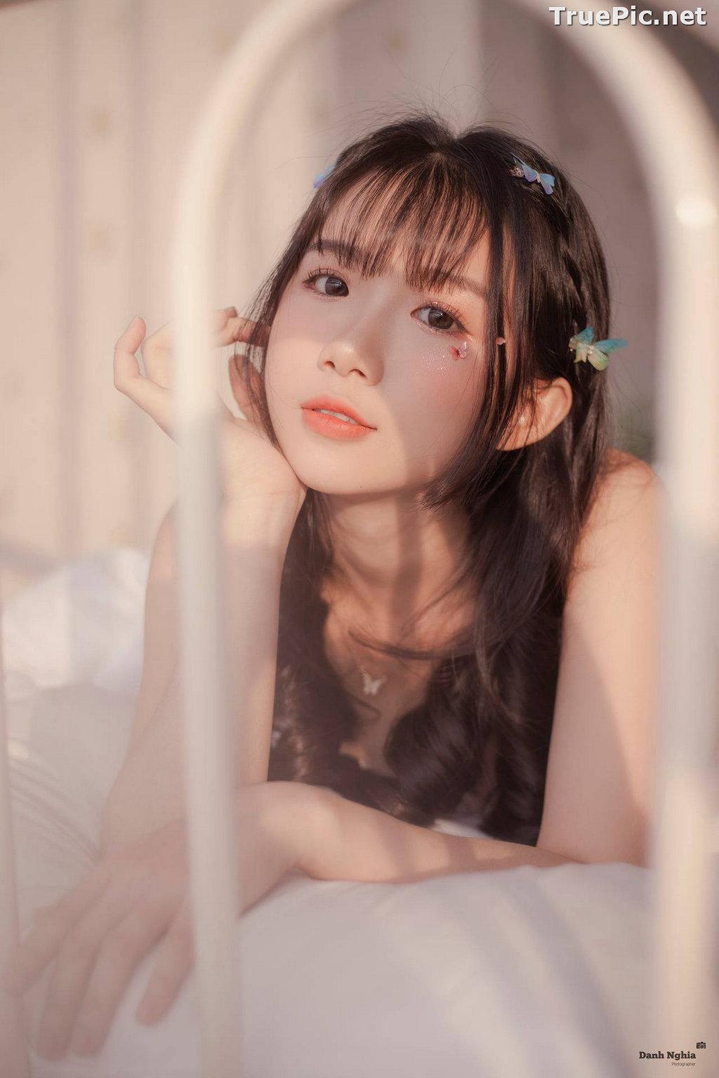 Image Vietnamese Cute Girl - Tran Thi Anh Thu - Beautiful White Butterfly - TruePic.net - Picture-10