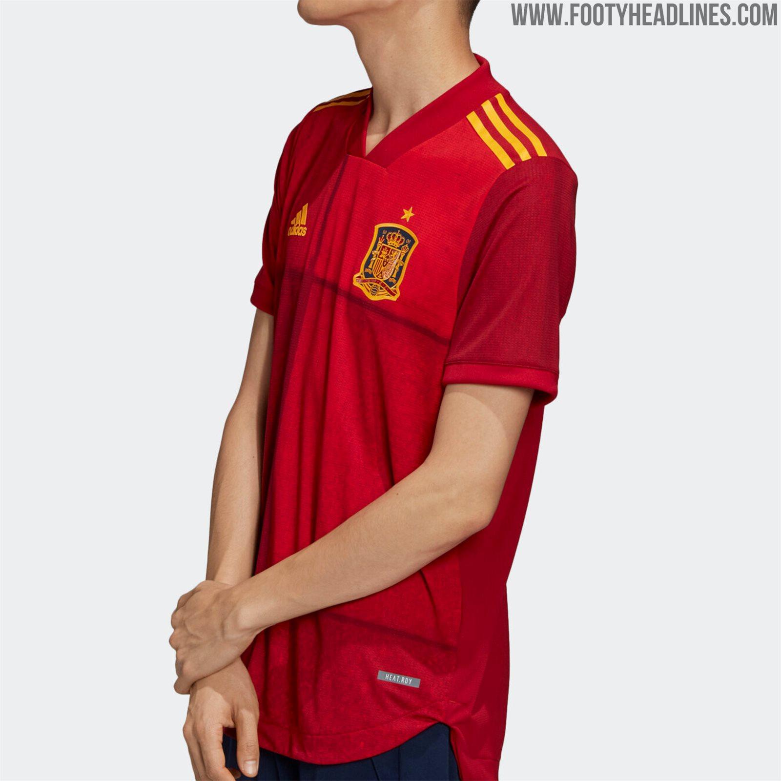 Spanien EM 2020 Heimtrikot Veröffentlicht - Nur Fussball