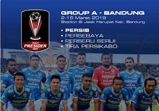 Persib Bandung Tanpa Esteban Vizcarra di Piala Presiden 2019