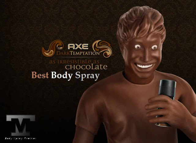 AXE Best Body Spray for Men, Dark Temptation