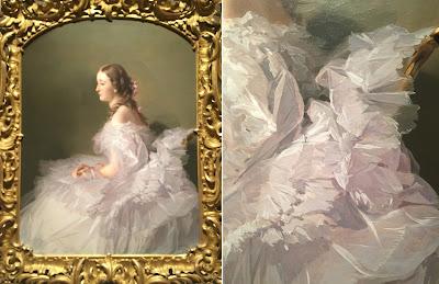 portrait painting, realism