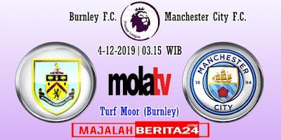 Prediksi Burnley vs Manchester City — 4 Desember 2019