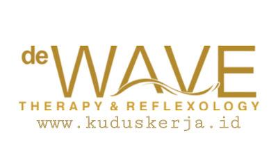 de WAVE adalah tempat Therapy, Reflexology & Spa terbaik di Indonesia. Kami melayani pijat refleksi, spa dan massage serta beberapa treatment kesehatan, saat ini de WAVE membuka lowongan kerja untuk pososi