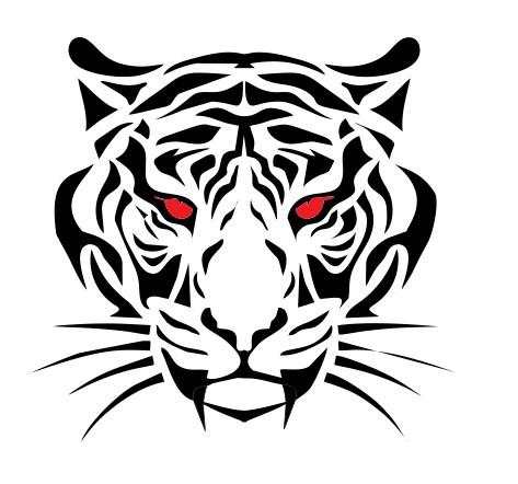 design logo free tiger head