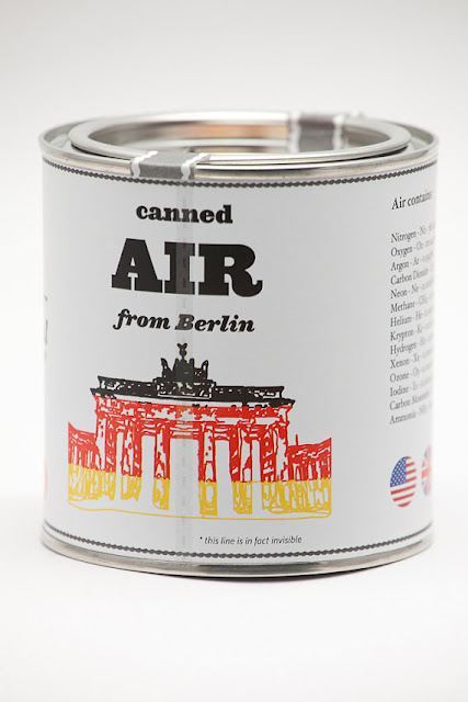 Berlin, canned air from Berlin