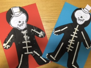 We Really Enjoyed Making Our Skeletons We Are Now Working On Labelling Them And Then They Will Be Up In Our Classrooms As Our Very Own Funny Bones