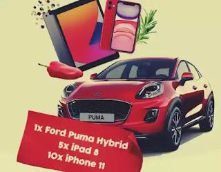 câștigători concurs  Kotanyi 2021 mașină ford puma