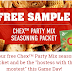 Free Chex Party Mix Seasoning Packets