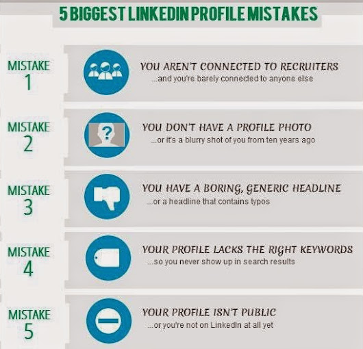 5 Biggest LinkedIn Profile Mistakes