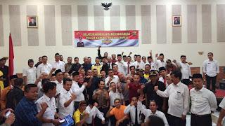 Kapolres Sukabumi serukan PILKADA damai 2020 saat MUSCAB APDESI ke IV kabupaten Sukabumi