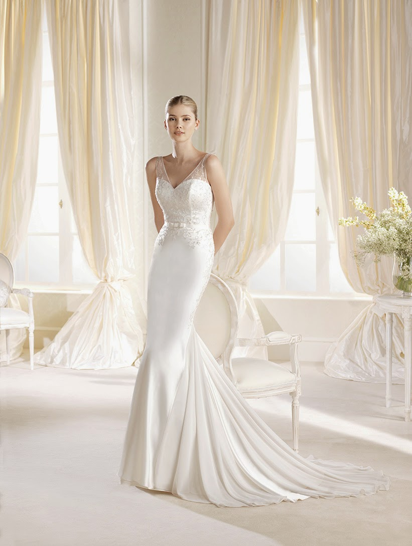 bride fashion 6 wedding dresses in la heart shaped wedding dress IBIAS mermaid evening dress with heart shaped cleavage La Sposa