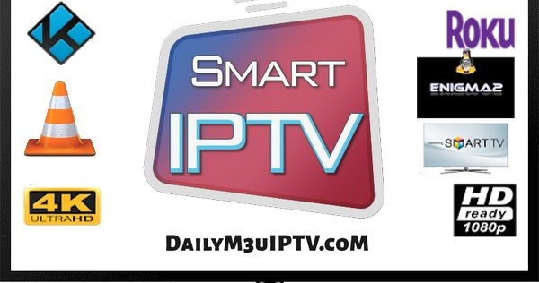 Free Daily IPTV Smart Tv Playlist M3u8 Channels 06/09//2019