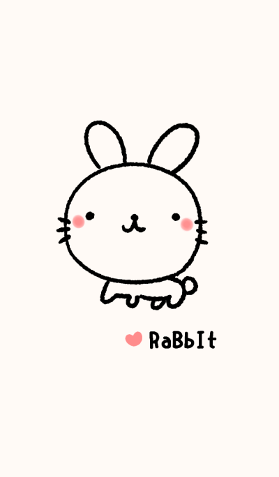 ウサギ【ベージュ*ペア】