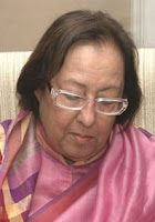 Governor of Manipur Najma Heptulla