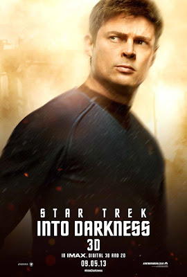 "Star Trek Into Darkness Character Portrait Theatrical One Sheet Movie Poster Set - Karl Urban as Dr. Leonard ""Bones"" McCoy"
