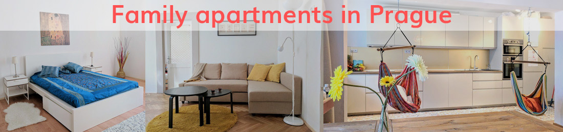 Family apartments in Prague