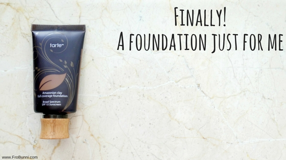 FroBunni | Foundation for dark skin, tarte cosmetics